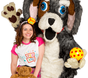 Anya and Bonzo - Funbox - a family show