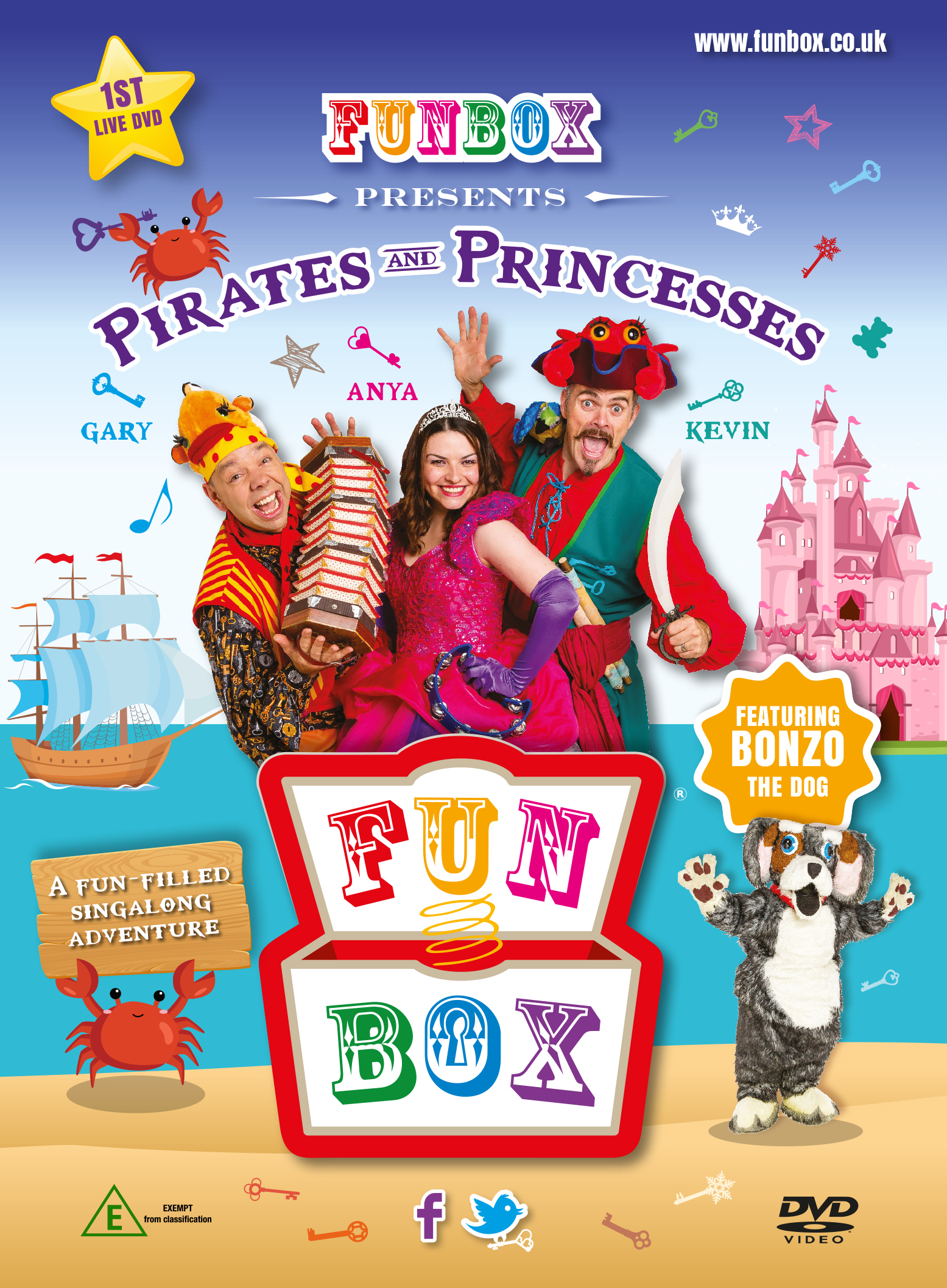 Pirates & Princesses DVD