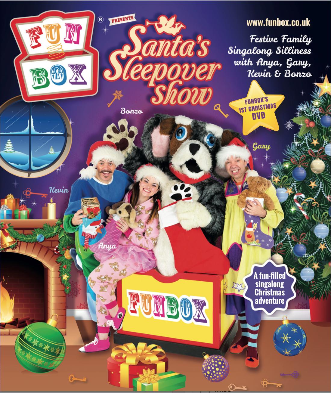 Christmas Show Box Dog