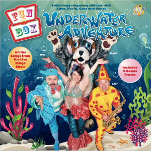 UNDERWATER CD Cover